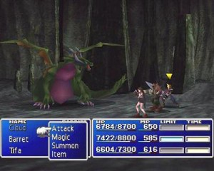 Screen du jeu Final Fantasy VII