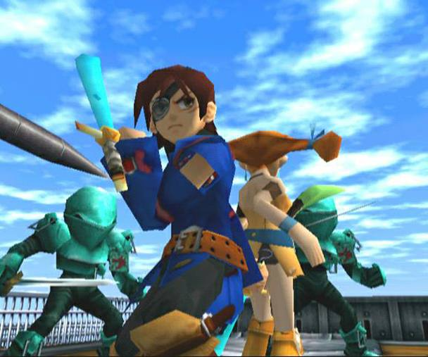 Screen de Skies of Arcadia